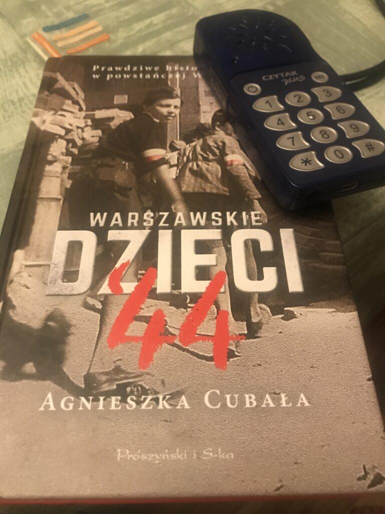 Okładka książki Warszawskie dzieci 44
